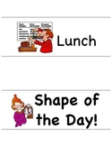 Shape of the Day Cards