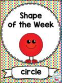 2D Shape Activities Circle