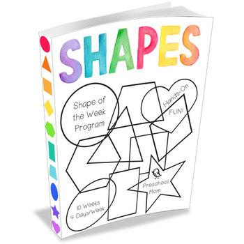 Shape of the Week Preschool Program