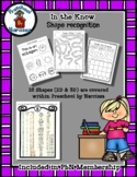 Shape of the Week - Shape Sorting - Shape Recognition - Ad