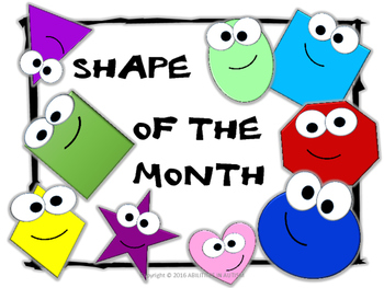 Shape of the month/week