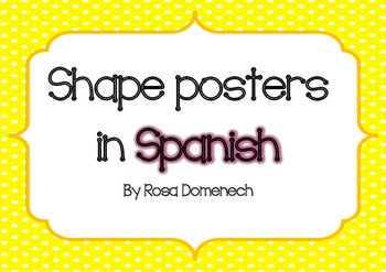 Shape posters in Spanish