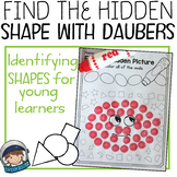Shape recognition with daubers (prek and kindergarten)