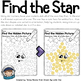 Shape recognition with daubers (Find the star) Freebie
