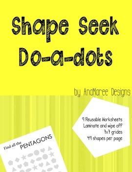 Shape seek, do-a-dot shape seek.