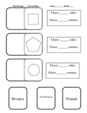 Shape sort with defining attributes