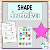 Shape sudoku