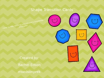 Shape transition cards