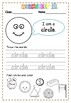 Shape worksheet with activities - 34pg
