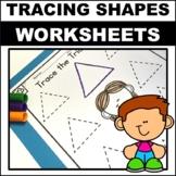 Preschool/kindergarten Shape worksheets