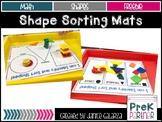ShapeSorting Mat {{FREEBIE}}