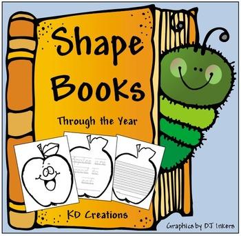 Shapebooks Through the Year  *D'Nealian*