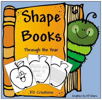 Shapebooks Through the Year  *Traditional Font*