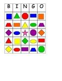 Shape/color Bingo