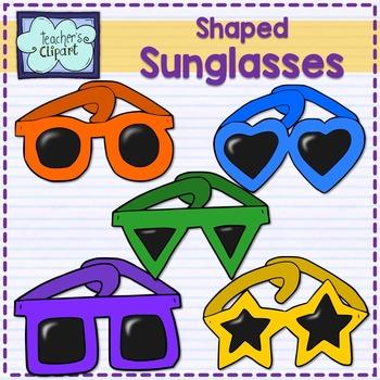 Shaped Sunglasses (5 shapes - 9 colors each)