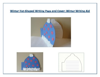 Shaped Writing Paper and Cover (Winter Hat): Winter Writing Aid