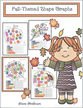 Free Shapely Fall-Themed Graphing Activities