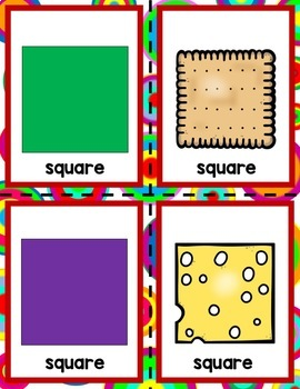 Shapes! 10 Shape Centers for Preschool, PreK, K, & Homeschool