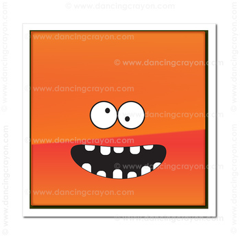 2D Shapes Clip Art with Happy Faces