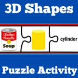 3D Shapes Activity | 3D Shapes Kindergarten
