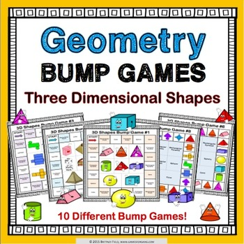 Geometry Games: 3D Shapes Games {Three Dimensional Shapes}