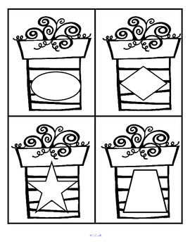 Shapes Activities With a Presents Theme