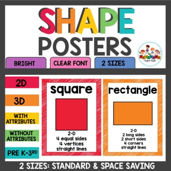 Shape Posters with attributes