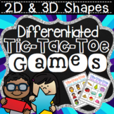Shape Game -  2D and 3D shapes