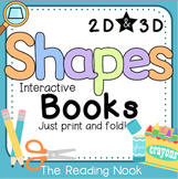Shapes 2D and 3D Interactive Books