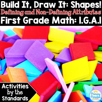 Shapes 1st Grade: Activities by the Standards Geometry Bundle
