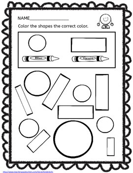 Shapes- Kindergarten Unit 2-D Shapes