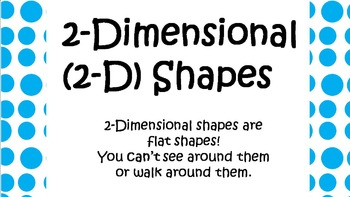 Shapes (2-D and 3-D)