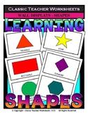 Shapes - 2D Shapes Wall Displays - Grades 1-6 (1st-6th Grade)