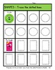 2D Shapes with Faces - Trace the Shapes - Kindergarten to Grade 1 (1st Grade)