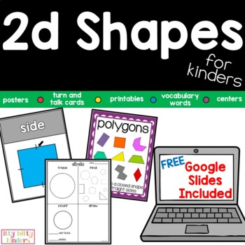 2D Geometry Shapes For Kinders