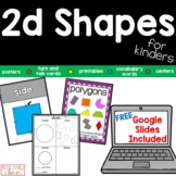 Geometry 2d Shapes For Kinders