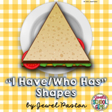 Shapes I Have Who Has Game