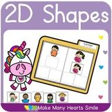 2D Shapes Crossword Puzzles     MMHS14