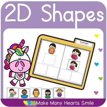 2D Shapes Crossword Puzzles