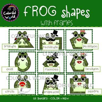 Frog Shapes