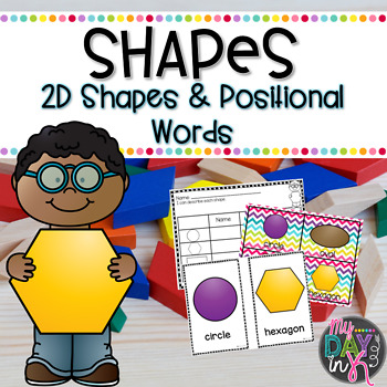 2D Shapes and Positional Words