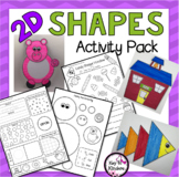 Shapes Practice Pages & Craftivity