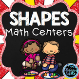 2D and 3D Shapes Centers  | Shapes Activities