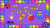 Shapes 2D 3D Kindergarten  (Interactive Powerpoint!!) Always $1.00!!