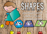 Shapes: 2D, 3D & Partitioning