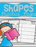 Shapes {2D & 3D} Practice Sheets