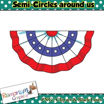 Shapes 2D 3D Semi Circle Clip art