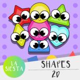 Shapes 2D Clipart