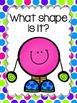 Shapes - 2D Flat Shapes Fluency Packet