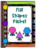 Shapes - 2D Flat Shapes Fluency Packet